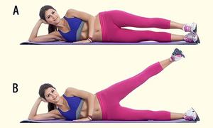 7 động tác đơn giản giúp bạn nhanh chóng có được cặp chân thon thả