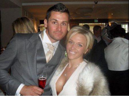 Charlotte và Steven Hind bên nhau 17 tháng và có một cô con gái