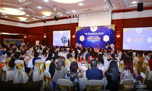 Ngọc Dung chi 800 triệu đồng mừng sinh nhật chi nhánh Hà Nội