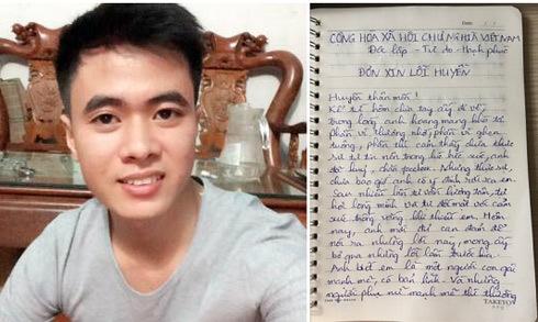 Anh chàng viết đơn xin lỗi bạn gái vì lỡ block Facebook