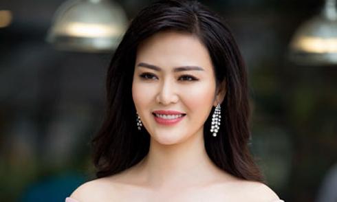 Hoa hậu Thu Thủy không bình luận trước lời tố cáo giật chồng của em họ