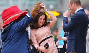 Công nương Kate mang bầu lần ba