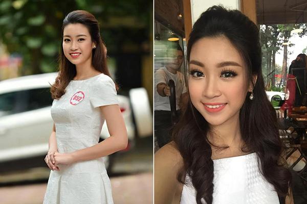 Thời thi Hoa hậu Việt Nam, Đỗ Mỹ Linh sở hữu gương mặt bầu bĩnh và nước da kém sáng. Nhan sắc của tân Hoa hậu lúc bấy giờ gây ra không ít tranh cãi.
