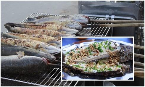 Chưa ăn đã thèm cá lóc nướng chấm mắm me ở An Giang