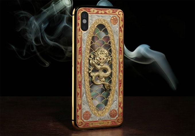 Lu iPhone X.