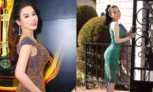 Hoa hậu Jenny Trần hạnh phúc ngập tràn dù làm mẹ đơn thân