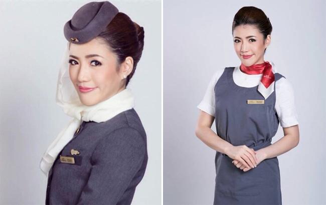 Theo Stomp, cô nàng có tên là Benjawam Som, tiếp viên hàng không của hãng Etihad Airways, hãng hàng không cao cấp của các Tiểu vương quốc Ả-rập (UAE).