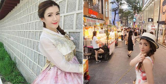 Nữ tiếp viên hàng không người Thái cũng rất thích đi du lịch và chưa công khai bạn trai.