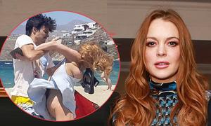 Lindsay buồn vì không ai bảo vệ khi cô bị bạn trai bạo hành