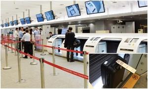 Check-in, ký gửi hành lý ở trung tâm Đài Bắc trước khi ra sân bay