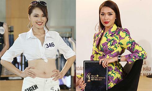 Ngọc Nữ bị chê thiếu trung thực khi thi Hoa hậu Hoàn vũ VN