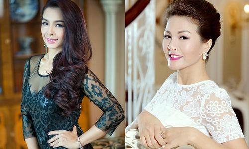 Siêu mẫu Thúy Hằng, diễn viên Hoàng Xuân ngồi 'ghế nóng' cuộc thi làm đẹp