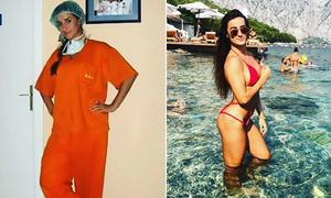 Nữ bác sĩ Serbia khoe thân hình nóng bỏng như người mẫu