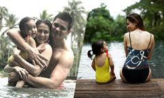 Mỹ nhân Philippines khoe ảnh hạnh phúc bên chồng con