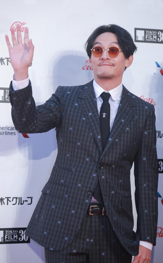 Tài tử Trương Chấn của Đài Loan tới Tokyo giới thiệu bộ phim mới nhất có tên Mr. Long.