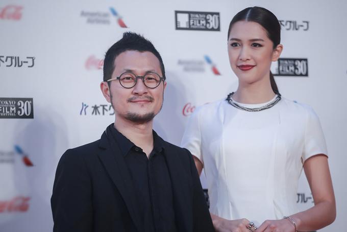 Cửu Bả Đao (trái) là tác giả của tiểu thuyết và cũng là đạo diễn của phim chuyển thể You are the Apple of My Eye (Cô gái năm ấy chúng tôi cùng theo đuổi).
