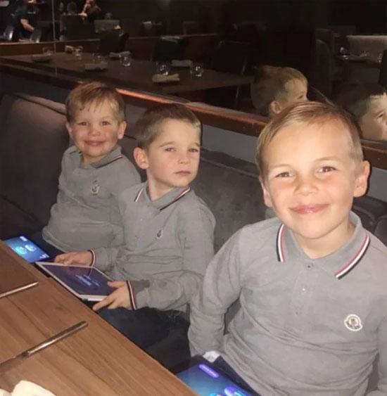 Ba nhóc Archie, Harry và George yêu quý em trai Ronnie nhưng vẫn muốn có một cô em gái