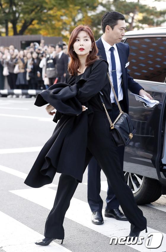 Nữ diễn viên Kwon Hyun Jin.