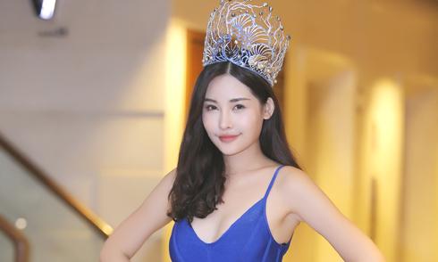 BTC Hoa hậu Đại dương 2017: 'Ngân Anh có vẻ đẹp tự nhiên'