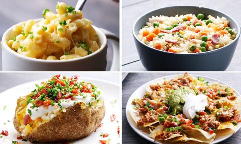 Những món ăn ai cũng làm được chỉ với lò vi sóng