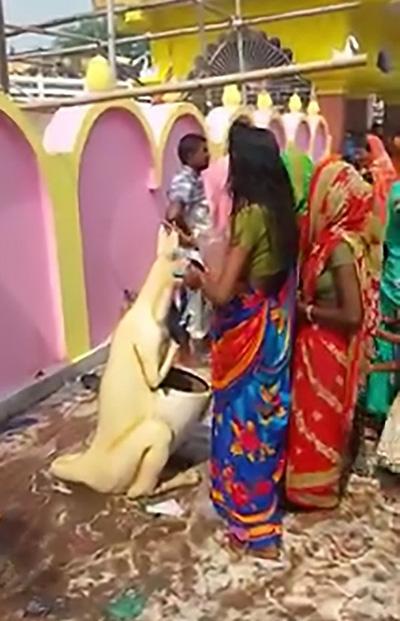 nguoi-di-den-an-do-nham-thung-rac-hinh-kangaroo-la-than-hindu