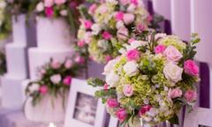 Callary ưu đãi cho tiệc và gói trang trí cưới