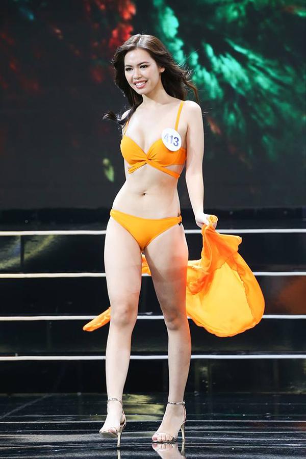 Một số thí sinh khoe được hình thể đẹp hoàn hảo, nhưng cũng không ít người lộ nhược điểm trong trang phục gợi cảm.