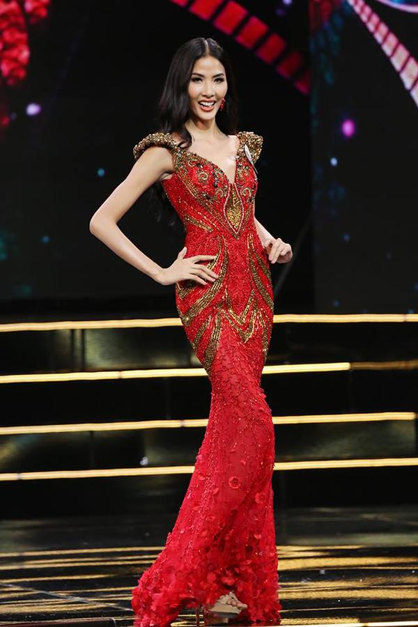 Hoàng Thuỳ là một trong 45 cái tên được xướng lên sẽ vào chung kết Hoa hậu Hoàn vũ Việt Nam 2017.