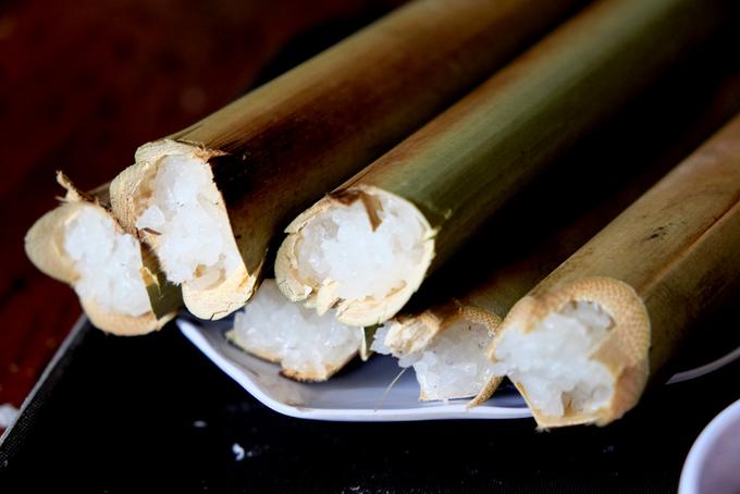 Đến Pleiku ăn đặc sản cơm lam gà nướng