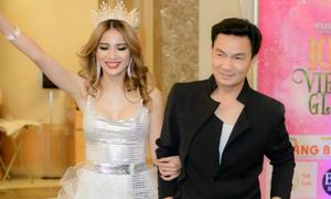 Hoa hậu Đan Vy mở tiệc mừng đăng quang tại Mỹ