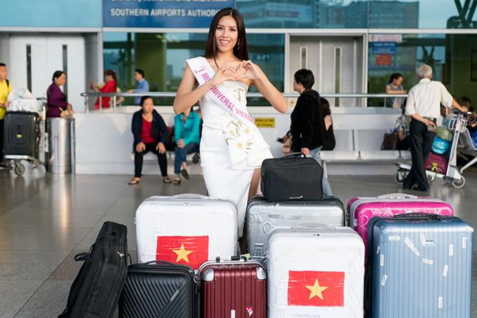 nguyen-thi-loan-mang-6-vali-hanh-ly-nang-hon-200kg-di-thi-miss-universe-2017-4