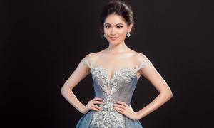 Trang phục dạ hội chính thức của Thùy Dung tại Hoa hậu Quốc tế 2017