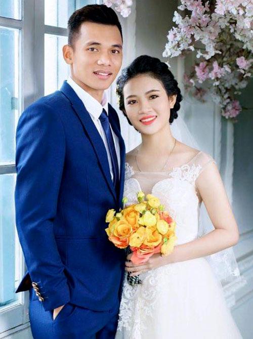 Phạm Văn Cường và vợ Đinh Thị Thanh. Ảnh: NS.