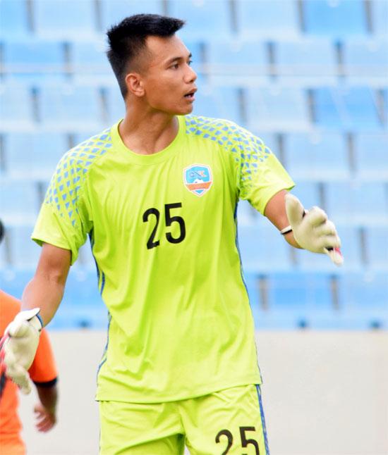 Phạm Văn Cường khẳng định được tài năng trong màu áo Quảng Nam. Ảnh: WTT.
