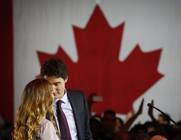 She emailed Trudeau a few days later, but he wasnt ready to take anyone seriously and never replied, according to Chatelaine.  But they bumped into each other later in the summer, and he asked her on a date. They went to an Afghan restaurant and to a dingy karaoke bar to sing Elton John and Beatles tunes at each other in a private booth.