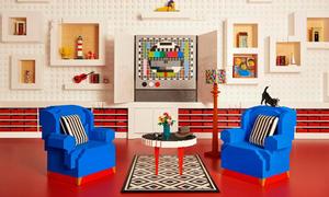 Tòa nhà được làm từ 25 triệu miếng Lego ở Đan Mạch