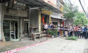 Thi thể nữ chủ quán không nguyên vẹn sau vụ nổ ở Thái Nguyên