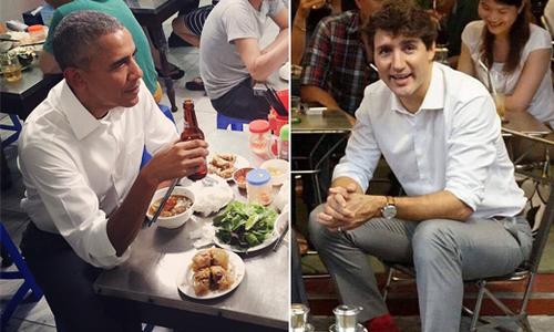 Những nhà hàng, quán vỉa hè ở Việt Nam nơi các chính khách quốc tế từng ghé