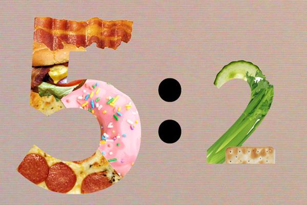 Chế độ ăn kiêng 5:2 được chứng minh là giúp
