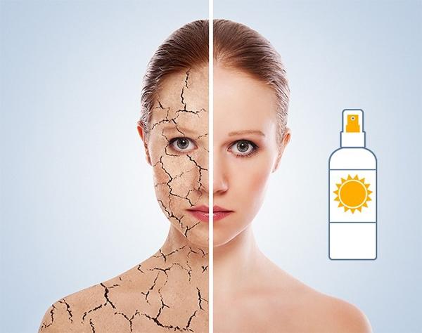 Thoa kem chống nắng mỗi ngày Không chỉ bảo vệ da khỏi tác hại của ánh nắng mặt trời, kem chống nắng còn giúp chống lão hóa, hạn chế khô da, ngăn ngừa ung thư da hiệu quả.