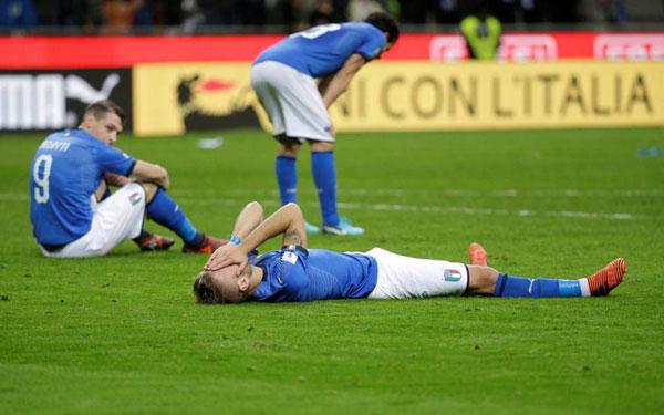 Sự thiếu vắng Italy và Hà Lan khiến các fan bóng đá tiếc nuối.