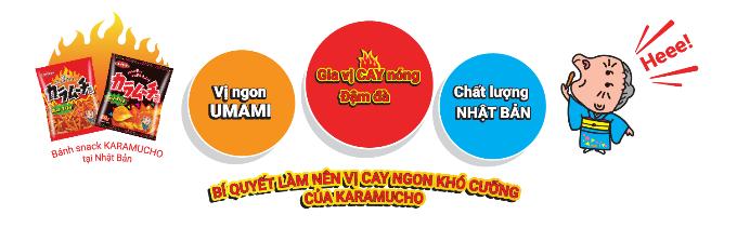 Karamucho mang đến hương vị cay mới tại Việt Nam