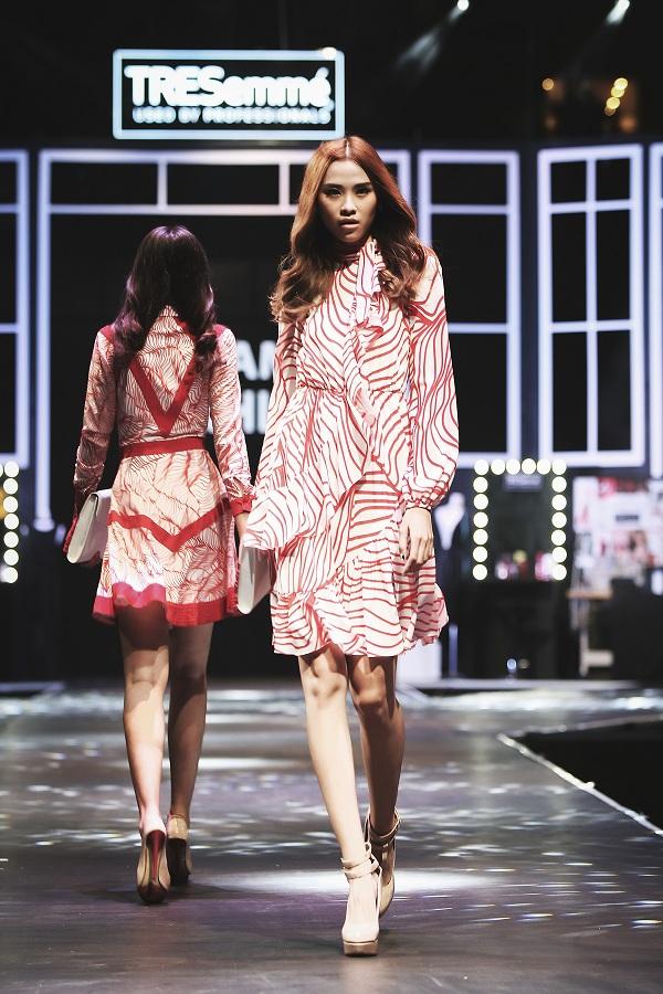 Tại Đấu trường phong cách, show thời trang do TRESemmé khởi xướng, kiểu tóc của team Thanh lịch cũng được nhiều tín đồ thời trang hưởng ứng.