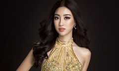 Đỗ Mỹ Linh sẽ mặc váy đính hàng nghìn viên pha lê tại Miss World