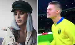 Tuyển thủ Thụy Điển bị vợ chê trách vì chửi bậy
