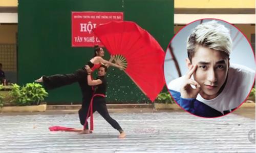 Múa 'Lạc trôi' chào mừng ngày Nhà giáo Việt Nam
