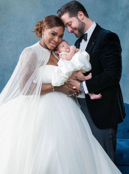 Đám cưới của tay vợt nữ cựu số một thế giới và tỷ phú công nghệ Alexis Ohanian diễn ra tại Trung tâm nghệ thuật đương đại New Orleans