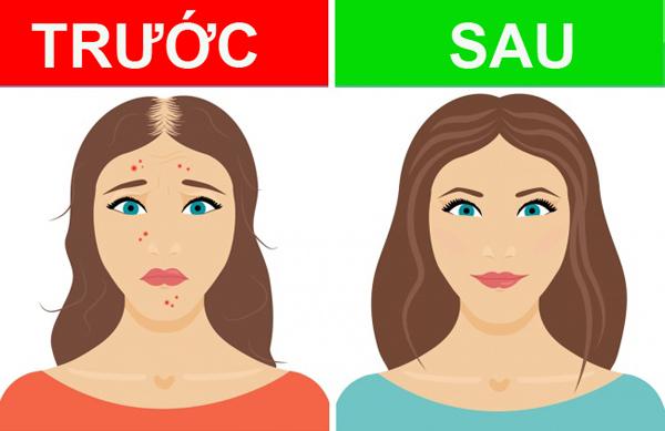 Dầu ô liu giúp chữa lành các tổn thương da, làm mềm và chỗng lão hóa da hiệu quả. Bạn sẽ nhận thấy làn da, mái tóc hay thậm chí là móng tay đẹp lên sau một thời gian uống dầu ô liu.