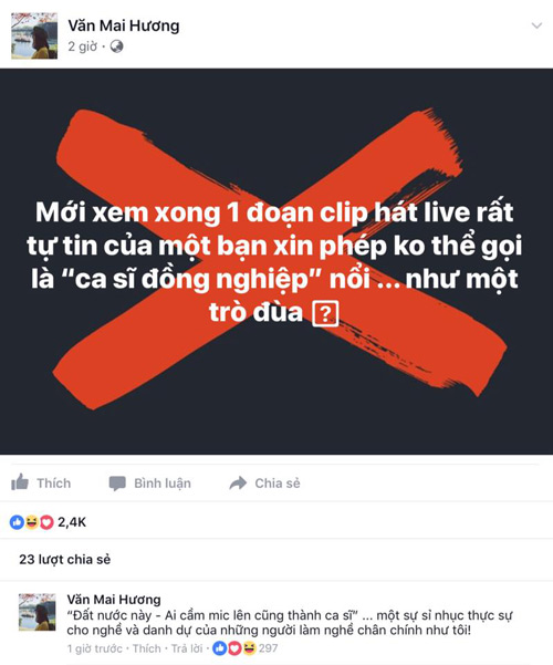 van-mai-huong-quoc-thien-bat-binh-truoc-man-bieu-dien-tham-hoa-cua-chi-pu
