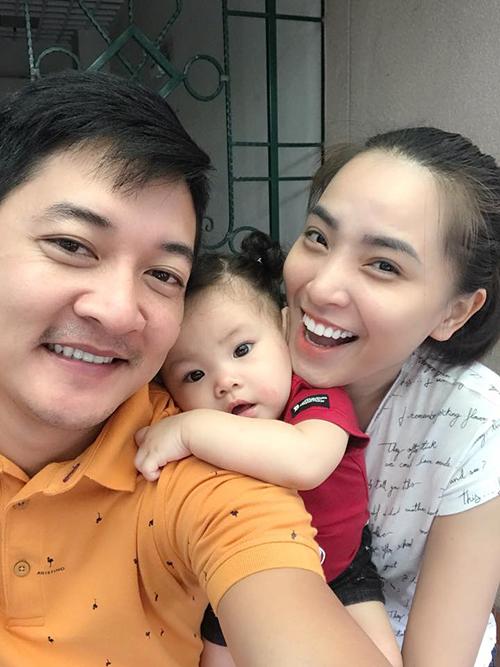 Gia đình Hải Băng - Thành Đạt và bé Kem